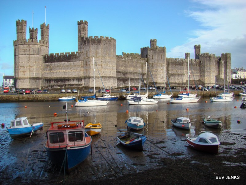 Photo_Caernarfon Castle_Wales