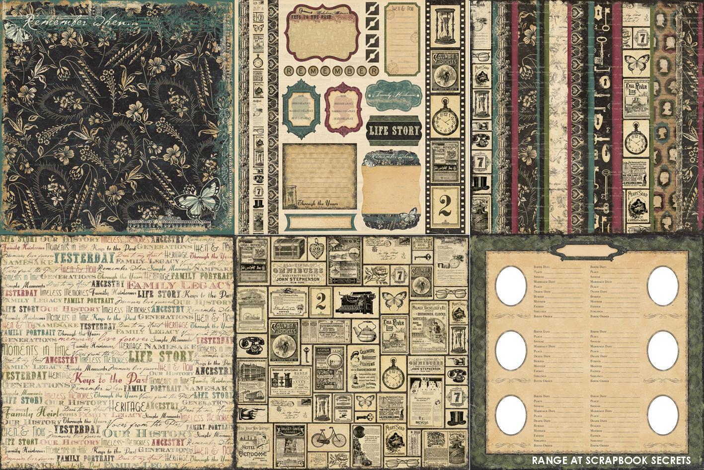 Scrapbook paper companies - The Paper Company Memory Lane